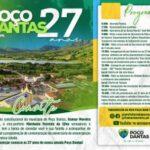 Poço Dantas celebra aniversário da cidade com inaugurações, entrega de ações e live especial