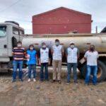 Em Poço Dantas: Vigilância Sanitária realiza inspeção de carros da Operação Pipa no município