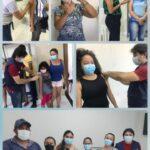 Secretaria de Saúde de Poço de José de Moura realiza o dia D de vacinação contra o Influenza
