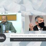 Clima quente na CPI da covid: Presidente da CPI, senador Omar Aziz determina prisão de Roberto Dias, ex-diretor da Saúde  – VEJA VÍDEO