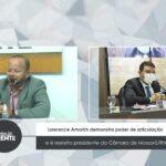 Lawrence Amorim demonstra poder de articulação e é reeleito presidente da Câmara de Mossoró/RN – VEJA VÍDEO