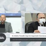 VEJA VÍDEO: Ex-ministro Pazuello nega ter negociado Coronavac com intermediários enquanto comandava ministério da saúde