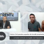 VEJA VÍDEO: Polícia Civil prende suspeitos de invadir propriedades e matar animais na região de Cajazeiras