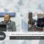 Carro roubado em SP é recuperado pela PRF em São João do Rio do Peixe/PB – VEJA VÍDEO