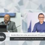 Geraldo Wilson tem contas aprovadas pelo TCE enquanto presidia Câmara de Poço José de Moura/PB – VEJA VÍDEO