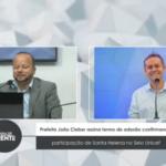 Prefeito João Cleber assina termo de adesão confirmando participação de Santa Helena no Selo Unicef – VEJA VÍDEO