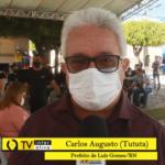 Prefeito Tututa homenageia cidade de Luís Gomes nos 131 anos de Emancipação Política – VEJA VÍDEO
