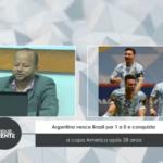 Argentina vence Brasil por 1 a 0 e conquista a Copa América após 28 anos – VEJA VÍDEO