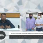 Secretário de Educação do estado da Paraíba é recepcionado pelos prefeitos Aldo Andrade em Bernardino Batista e por Itamar Moreira e Poço  Dantas – VEJA VÍDEO