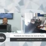 Presidente da Câmara de José da Penha solicita ao DNIT melhorias na BR 405 – VEJA VÍDEO