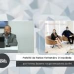 Prefeito de Rafael Fernandes  é recebido por Fátima Bezerra na governadoria do RN – VEJA VÍDEO