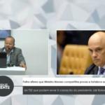 Folha afirma que Ministro Moraes compartilha provas e fortalece ações do TSE que podem levar à cassação do presidente Jair Bolsonaro  – VEJA VÍDEO