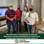 VEJA VÍDEO: PREFEITO TUTUTA PARTICIPA DE REUNIÃO PARA IMPLANTAÇÃO DO SALTA Z EM LUIS GOMES/RN