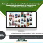 Prefeitura de Luís Gomes promove ações de formação continuada para profissionais da educação do município   – VEJA VÍDEO