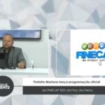 VEJA VÍDEO: Prefeitura lança instagram oficial da FINECAP 2021 em Pau dos Ferros