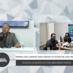 VEJA VÍDEO: PREFEITO ALDO ANDRADE VISITA ÓRGÃOS DO ESTADO EM JOÃO PESSOA EM BUSCA DE BENEFÍCIOS PARA BERNARDINO BATISTA