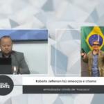 VEJA VÍDEO: Roberto Jefferson faz ameaças e chama embaixador chinês de 'macaco'