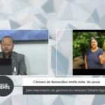 VEJA VÍDEO: Câmara de Bernardino Batista  emite nota de pesar pelo falecimento da genitora do vereador Gilberto Egídio