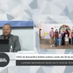 VEJA VÍDEO: CRAS de Bernardino Batista realizou neste dia 20  o primeiro Seminário em alusão aos 31 anos de ECA