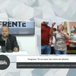 """VEJA VÍDEO: Programa """"Tá na mesa"""" tem início em Uiraúna e prefeita Leninha Romão conclama união e trabalho pelo município"""