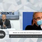 Vídeo: Ministro da saúde Marcelo Queiroga provoca governadores em live transmitida nas redes sociais