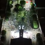 VEJA VÍDEO: Devotos celebram ultima noite da novena de Santana em Luís Gomes/RN