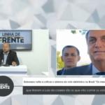 """VEJA VÍDEO: Bolsonaro volta a criticar o sistema de voto eletrônico no Brasil """"Os mesmos que tiraram o Lula da cadeia são os que vão contar os votos"""""""