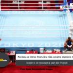 Perdeu a linha: Francês não aceita derrota no boxe e se recusa a sair do ringue