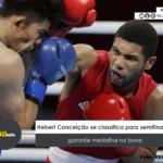Hebert Conceição se classifica para semifinal e garante medalha no boxe