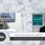 VEJA VÍDEO: Gestão Cássio Fernandes realiza o pagamento de julho dos servidores em Riacho de Santana/RN